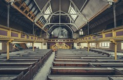 Disused Church (Camera_Shy.) Tags: church abandoned derelict tresspassing urban exploration decayed dereliction rotten north west uk pews congregational religious