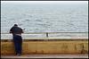 The Fisherman. (curly42) Tags: fishing fisherman dawlish devon seaside