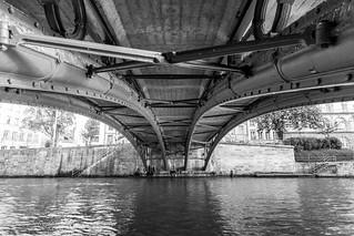 Sous le pont - Strasbourg