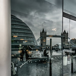 London is.... Cafe Society by Simon Hadleigh-Sparks thumbnail