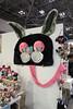 Rabbit Hanging Piece (Design Festa) Tags: designfesta design festa festival artfestival japanartfestival art japaneseconvention convention tokyobigsight tokyo japan designfestavol46 stuffedanimals animals