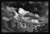 La Palma, Cumbre y Cumbrecita, mountains in the clouds (Dierk Topp) Tags: bw bäume himmel berge canaryislands clouds islascanarias lapalma monochrom mountains nikond70 pano panorama sw trees wald wolken wood