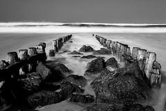 (Kévin Proust) Tags: canon50d nd1000 ndfilter france seascape wave beach hossegor longexposure longueexposition monochrome blackandwhite nature