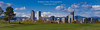 Panorama of Denver Skyline from Golf Course (Bridget Calip - Alluring Images) Tags: 2017 alluringimagescolorado autumn bridgetcalip citypark cityparkgolfcourse cityandcountyofdenver colorado denver denverskyline fallcolor ferrillake frontrangemountains milehicity milehighcity mtevans october queencityoftheplains rockymountains architecture blueskies cashregisterbuilding cityscape coniferoustrees crane downtowndistrict fallfoliage fountain golfcourse greengrass landscape leisure outdoors panorama practice publicpark puttinggreen recreationalarea rough skyline skyscrapers snowcoveredmountains sport urbanskyline
