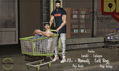 {YD} Moments - Cart Boys (*Your Dreams*) Tags: yourdreams yourposes limit8 props poses 100originalmesh