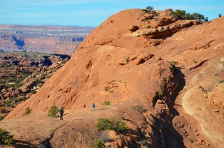 Everett & Mommy On The Upheaval Dome Trail