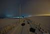 The Track to Wester Millichen (john&mairi) Tags: west millichen farm boclair glasgow scotland snow puddles light pollution clouds night antonine wall unesco world heritage site