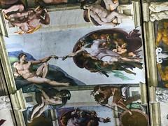1-11 Divine Michelangelo at The Met (MsSusanB) Tags: sistine chapel god adam metmuseum metropolitanmuseum michelangelo divine museum exhibition nyc art