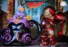 Ursula's Giant Pusit vs. Hulkbuster 😄Hulkbuster: Calamares for Dinner!Ursula: I'll take your voice so you can't give any command to your Hulkbuster you fool! Now Sing! 😄#MysteryMiniMonday (PrinceMatiyo) Tags: seawitch collectible mysterymini avengers ironman thelittlemermaid disney disneyvillain ursula metalsdiecast hulkbuster marvel funko