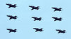 Hawk T2 Nine Ship. (spencer_wilmot) Tags: hawks hawk baehawk black raf royalinternationalairtattoo royalairforce riat ffd fairford display 9ship airshow airdisplay aviation aircraft militaryaviation fighter fighterjet trainer no4reservesquadron 4r 4rsqn t2 hawkt2 baesystems infuturumvidere baesystemshawk advancedjettrainer ajt airforce airplane combataircraft egva ffdegva flying flight jet plane