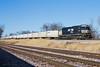 Triple Crown - North St. Louis (tim_1522) Tags: railroad railfanning rail missouri mo norfolksouthern ns stlouisdistrict lutheryard roadrailer triplecrown intermodal emd sd60i