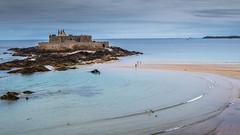 Fort National (lwnanyju82) Tags: saintmalo fortnational bretagne maréebasse ileetvilaine lowtide brittany wave vague littoral breizh