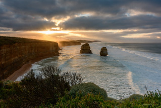 Sunrise at the Twelve Apostles