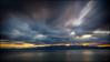 Storm approaching (mad_ruth) Tags: sky sunset storm longexposure greece lesvos landscape gulfofyera pentax k1 nd