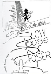 "Sketchnotes ""La slow attitude"" (Claudio Nichele (@jihan65 on Twitter)) Tags: bierlaire psychology psychologie psychologique psy psycho sketchnotes sketchnote sketching sketch sketchbook sketchnoting drawing draw illustration dessin life slowlife slow flaner attitude"