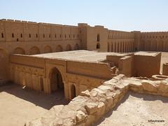 Ukhaidir Fortress (7).jpg (tobeytravels) Tags: iraq alukhaidir abbasid umayyad palace isaibnmusa gertrudebell unesco pishtaq bayts