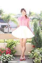 day282-20 AnkRouge Red BL + White SK (Yumiko Misaki) Tags: day282 blouse skirt dress ankrouge kawaii cute transgender transsexsual transvestite crossdresser crossdressing