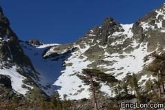 Corsica frozen lake Asco (13) (Eric Lon) Tags: corsica corse france island ile mountains montagne meretmontagne mareimonti pine pin laricio neige snow lac lake bath bain ice glace trek trekking ericlon