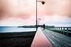 By the beach (Maria Eklind) Tags: hav ribersborg sunset people sweden ribban beach ocean malmö kallbadhuset bro winter ribersbrgskallbadhus sunlight strand kallis bridge öresundbron skånelän sverige se