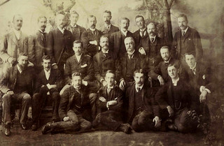 Staff of the McIlwraith McEacharn office, Melbourne, 1891