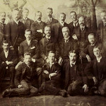Staff of the McIlwraith McEacharn office, Melbourne, 1891 thumbnail