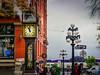 Gastown Steam Clock (YL168) Tags: gastown steam clock gastownsteamclock stream sony a60006500 vancouver rain street