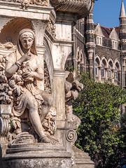 LR Mumbai 2015-548 (hunbille) Tags: birgittemumbai5lr india mumbai bombay fort hutatma chowk martyrs square martyrssquare flora fountain florafountain statue