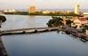 Entardecer no Recife (Luiz Carlos Targino Dantas) Tags: recife arrecife pernambuco pe brasil riocapibaribe pontesantaisabel ponteprincesaisabel teatrodesantaisabel paláciodocampodasprincesas caisdoapolo river city bridge canon s100 canons100