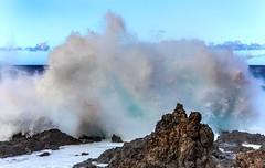 Starke Brandung in Purto-de-la-Cruz (ulrichcziollek) Tags: brandung meer küste spanien kanaren kanarischeinseln teneriffa tenerife wasser wellen