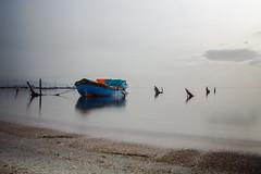 Devin (Devin Çetin) Tags: sea sky long exposure d7100 nikon travel izmir turkey fisher boat