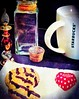 Morning Coffeebreak (marieschubert1) Tags: coffee break flavor morning aroma stimulant mug cookies heart chocolate drink
