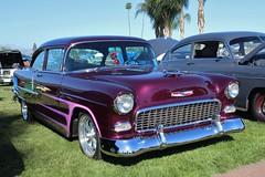11th Annual Cal-Rods Car Show (USautos98) Tags: 1955 chevrolet chevy 210 hotrod streetrod custom scalloppaint