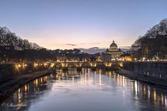 Ponte Umberto I, Roma RM (shin4433) Tags: ponteumbertoi romarm st peters basilica italy