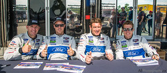 Ford GT #66 & #67 driver team at Mobil 1 Sportscar Grand Prix July 7-9, 2017 (andreas_schneider) Tags: car racing race gt lm lemans teams drivers driver 2017