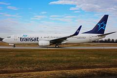 OK-TVM (Air Transat) (Steelhead 2010) Tags: airtransat travelservice boeing b737 b737800 yhm okreg oktvm