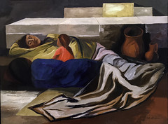 'Sleeping (The Family)' by Jose Clemente Orozco (Greatest Paka Photography) Tags: joseclementeorozco art artist painting museum sfmoma museumofmodernart mexican thethreegreats davidalfarosiqueiros diegorivera mexico lostresgrandes muralist fresco sleep sleepingthefamily color