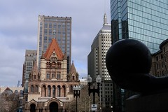 Copley Square (quiggyt4) Tags: boston massachusetts church trinitychurch cathedral christian christianity religion religious stainedglass altar architecture copleysquare god jesus christ copley bostonmarathon bostonstrong zeus statue sculpture ornate frieze facade arch courtyard library bostonpubliclibrary alley publicalley dumpster bpl johnhancockcenter johnhancock glass johnhancocktower assassinscreed boylston boylstonstreet busshelter lamps lamp occupy ows occupywallstreet streetscape ronpaul trump donaldtrump