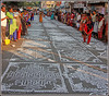 7488 - Kolam contest , Mylapore Festival 2018 (chandrasekaran a 47 lakhs views Thanks to all) Tags: india tamilnadu chennai mylapore culture heritage festivals tradition kolam travel competition pongal canon canoneos6dmarkii tamronef28300mm