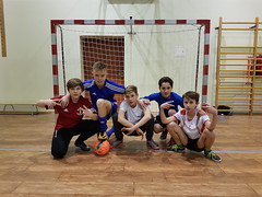 Rozstrzygnięcie turnieju o Puchar Dyrektora w Halowej Piłce Nożnej KSP