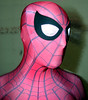 MCU Spider-man mugshot 2 (uomoragnolegato) Tags: spiderman zentai cosplay face mask shell suit catsuit tights costume mouth head gay fetish spandex lycra