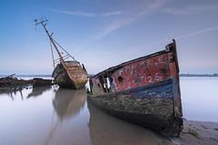 """For Sale"" (Nick Seaman Photos) Tags: shipwreck wreck boat longexposure hightide lowtide foreshore tidal tide riverorwell orwell ipswich eastanglia visitsuffolk visiteastanglia visit pinmill suffolk leeirnd irnd nd lee leefilter leefilters vatiotessartfe41635 zeiss a7sii a7s a7ii a7 a7riii a7rii a7r sony"