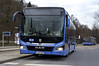 Der neue MAN Lion's City, hier der Testbus 4000, an seinem Premiereneinsatztag auf der Buslinie 144 am Scheidplatz (Frederik Buchleitner) Tags: 4000 bus leihbus linie144 lionscity man munich münchen omnibus testbus