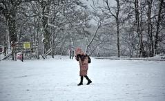 Invierno Escosés: La mujer de rosa;-)) (☮ Montse;-))) Tags: scotland treshermanas montañas tierras bideannambian tierrasaltas escocia invierno 20172018 treshermanasdeglencoe