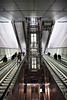2018_Jan_NZLijn-850 (jonhaywooduk) Tags: subway amsterdam design architecture tunnel rokin vizelgraacht turnstile escalator