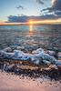 Shelburne Farms Sunset (skybluerenee) Tags: lake lakechamplain lakeshore waterfront waterscape ice winter cold sunset sunsetchaser vermont shelburne shelburnefarms explorevermont explore newengland