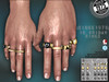13.Friday Rings @Hipster Men event ([ Since 1975 ]) Tags: hipster men man rings mesh signature slink