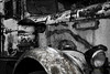 Abandoned (Hans Franchesco) Tags: kenworth truck logtruck abandoned rust rusty rusting broken blackandwhite toned