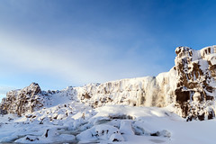 Thigvellir, Iceland (George Pachantouris) Tags: iceland north arctic cold winter snow white ice frozen freeze þingvellir thingvellir nordics