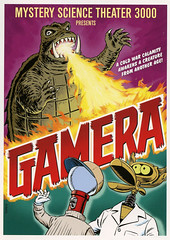 MST3K-Gamera (Count_Strad) Tags: movie cover art coverart drama action horror comedy mystery scifi vhs dvd bluray mst3k mysterysciencetheater3000