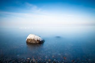 Winterlicher Ostseestrand
